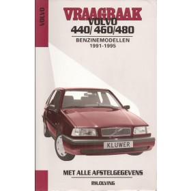 Volvo 440/460/480 Vraagbaak P. Olving  Benzine Kluwer 1991-1995 met gebruikssporen ISBN 90-201-2938-4 Nederlands