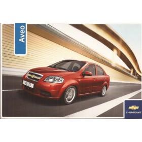 Chevrolet Aveo Instructieboekje   Benzine Fabrikant 07 ongebruikt   Nederlands