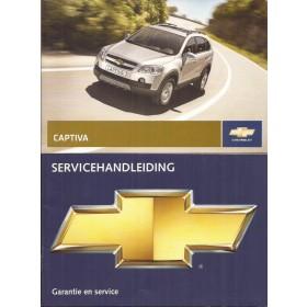 Chevrolet Captiva Instructieboekje   Benzine Fabrikant 09 ongebruikt   Nederlands