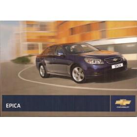 Chevrolet Epica Instructieboekje   Benzine Fabrikant 09 ongebruikt   Nederlands
