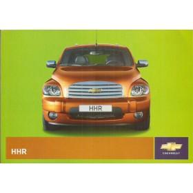 Chevrolet HHR Instructieboekje   Benzine Fabrikant 08 ongebruikt   Nederlands
