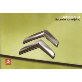 Citroen C1 Instructieboekje   Benzine Fabrikant 08 ongebruikt   Nederlands