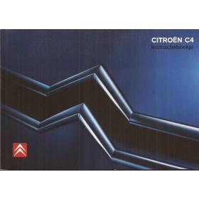 Citroen C4 Instructieboekje   Benzine/Diesel Fabrikant 06 ongebruikt in originele map   Nederlands
