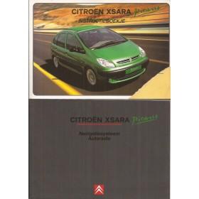 Citroen Xsara Picasso Instructieboekje   Benzine/Diesel Fabrikant 01 met gebruikssporen hoekje van kaft    Nederlands