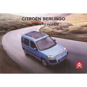 Citroen Berlingo VP Instructieboekje   Benzine/Diesel Fabrikant 06 ongebruikt   Nederlands