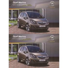 Opel Meriva B Instructieboekje   Benzine/Diesel Fabrikant 10 ongebruikt   Nederlands