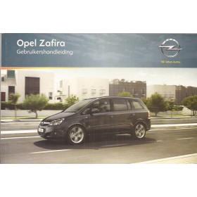 Opel Zafira B Instructieboekje   Benzine/Diesel Fabrikant 11 ongebruikt   Nederlands