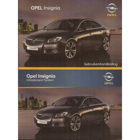 Opel Insignia Instructieboekje   Benzine/Diesel Fabrikant 09 ongebruikt   Nederlands
