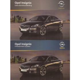Opel Insignia Instructieboekje Benzine/Diesel Fabrikant 10 ongebruikt Nederlands