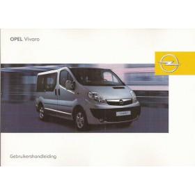 Opel Vivaro Instructieboekje   Benzine/Diesel Fabrikant 08 ongebruikt   Nederlands