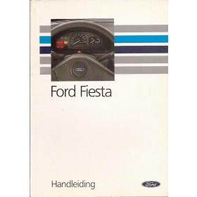 Ford Fiesta Instructieboekje  Mk3 Benzine/Diesel Fabrikant 91 met gebruikssporen   Nederlands