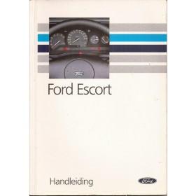 Ford Escort Instructieboekje  Mk4 Benzine/Diesel Fabrikant 90 met gebruikssporen   Nederlands