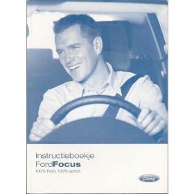 Ford Focus Instructieboekje  Mk2 Benzine/Diesel Fabrikant 05 met gebruikssporen   Nederlands