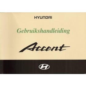 Hyundai Accent Instructieboekje Benzine/Diesel Fabrikant 02 met gebruikssporen   Nederlands