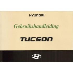 Hyundai Tucson Instructieboekje Benzine/Diesel Fabrikant 04 met gebruikssporen in originele map  Nederlands