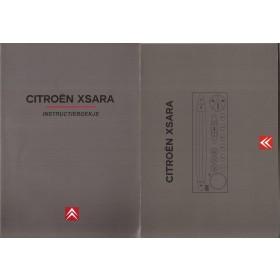 Citroen Xsara Instructieboekje   Benzine/Diesel Fabrikant 99 met gebruikssporen Nederlands