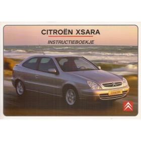 Citroen Xsara Instructieboekje   Benzine/Diesel Fabrikant 01 met gebruikssporen Nederlands