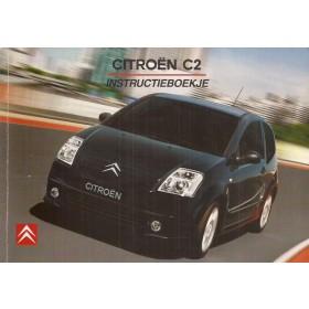 Citroen C2 Instructieboekje   Benzine/Diesel Fabrikant 03 met gebruikssporen  Nederlands