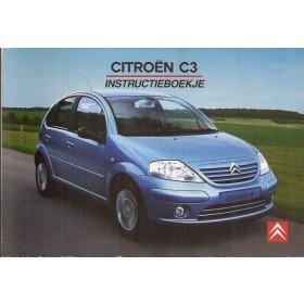 Citroen C3 Instructieboekje   Benzine/Diesel Fabrikant 04 met gebruikssporen Nederlands