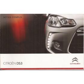 Citroen DS3 Instructieboekje   Benzine/Diesel Fabrikant 11 ongebruikt   Frans