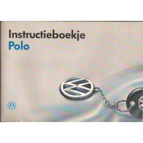 Volkswagen Polo Instructieboekje Benzine Fabrikant 92 met gebruikssporen   Nederlands