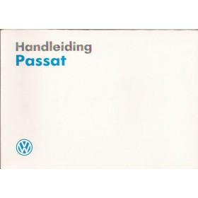 Volkswagen Passat Instructieboekje   Benzine/Diesel Fabrikant 89 met gebruikssporen   Nederlands