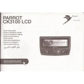 Parrot CK3100 Instructieboekje Fabrikant 04 met gebruikssporen Nederlands/Duits/Frans/Italiaans