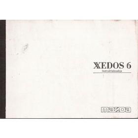 Xedos 6 Instructieboekje Benzine Fabrikant 94 met gebruikssporen ingebonden kopie Nederlands