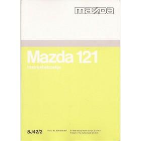 Mazda 121 Instructieboekje   Benzine Fabrikant 96 ongebruikt   Nederlands