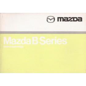 Mazda B-series Instructieboekje   Benzine/Diesel Fabrikant 99 met gebruikssporen   Nederlands