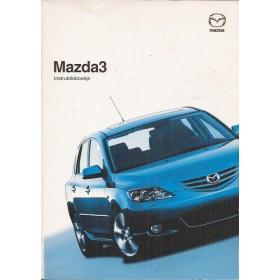 Mazda 3 Instructieboekje   Benzine Fabrikant 05 ongebruikt   Nederlands
