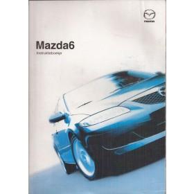 Mazda 6 Instructieboekje Benzine/Diesel Fabrikant 02 met gebruikssporen in originele map  Nederlands