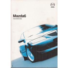 Mazda 6 Instructieboekje Benzine/Diesel Fabrikant 03 met gebruikssporen Nederlands