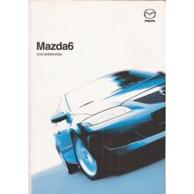 Mazda 6 Instructieboekje Benzine/Diesel Fabrikant 04 met gebruikssporen Nederlands