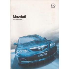 Mazda 6 nw type Instructieboekje Benzine/Diesel Fabrikant 05 met gebruikssporen Nederlands
