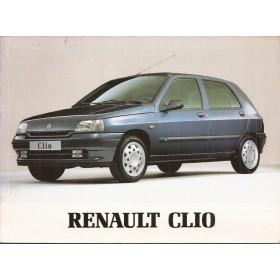 Renault Clio Instructieboekje Benzine Fabrikant 94 ongebruikt   Nederlands