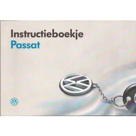 Volkswagen Passat Instructieboekje   Benzine/Diesel Fabrikant 1992 met gebruikssporen   Nederlands
