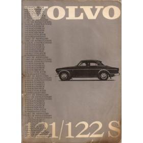 Volvo 121 122S Amazone Instructieboekje Benzine Fabrikant 1964 met gebruikssporen lichte vochtschade  Nederlands