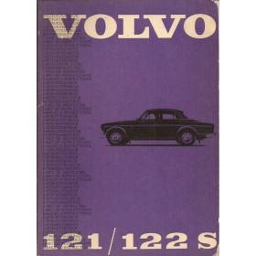 Volvo 121 122S Amazone Instructieboekje Benzine Fabrikant 1965 met gebruikssporen Frans