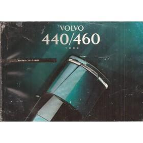 Volvo 440/460 Instructieboekje  MY 1994 Benzine Fabrikant 93 met gebruikssporen lichte vochtschade Nederlands
