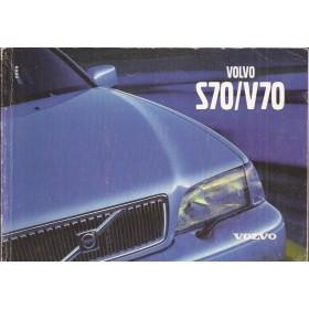Volvo S70/V70 Instructieboekje Benzine/Diesel Fabrikant 2000 met gebruikssporen   Nederlands