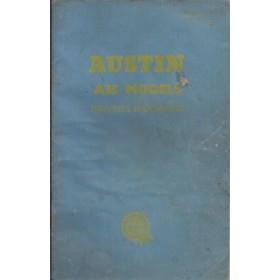 Austin A35 Instructieboekje Benzine Fabrikant 1959 met gebruikssporen Engels