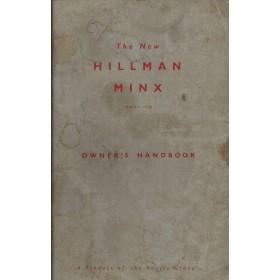 Hillman Minx Instructieboekje Benzine Fabrikant 1961 met gebruikssporen Engels