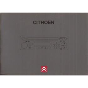 Citroen CD-systeem met wisselaar Instructieboekje Benzine/Diesel Fabrikant 1999 ongebruikt Nederlands