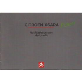 Citroen Xsara Picasso Navigatiesysteem Instructieboekje Benzine/Diesel Fabrikant 2003 ongebruikt Nederlands