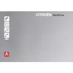 Citroen Navidrive Navigatiesysteem Instructieboekje Benzine/Diesel Fabrikant 2007 ongebruikt Nederlands
