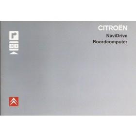 Citroen Navidrive Navigatiesysteem Instructieboekje Benzine/Diesel Fabrikant 2006 ongebruikt Nederlands