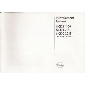 Opel Audiosysteem Instructieboekje Benzine/Diesel Fabrikant 2003 ongebruikt Nederlands