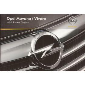 Opel Vivaro Opel Movano Audiosysteem Instructieboekje Benzine/Diesel Fabrikant 2010 ongebruikt Nederlands