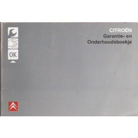 Citroen Onderhoudsboekje Benzine/Diesel Fabrikant 2006 ongebruikt Nederlands